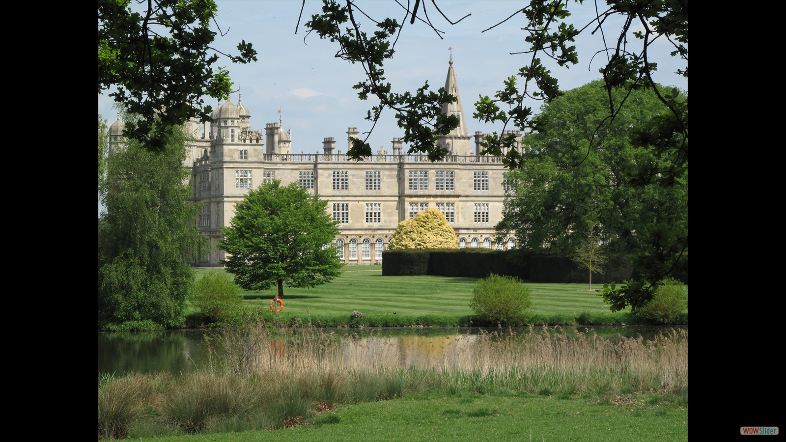 Burghley House for the BBC